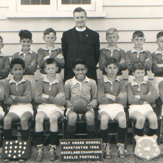 Holy Cross Gaelic Football Team 1966