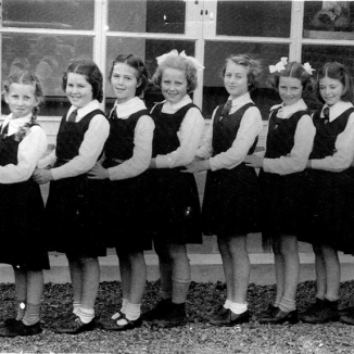 Holy Cross Netball Team 1953
