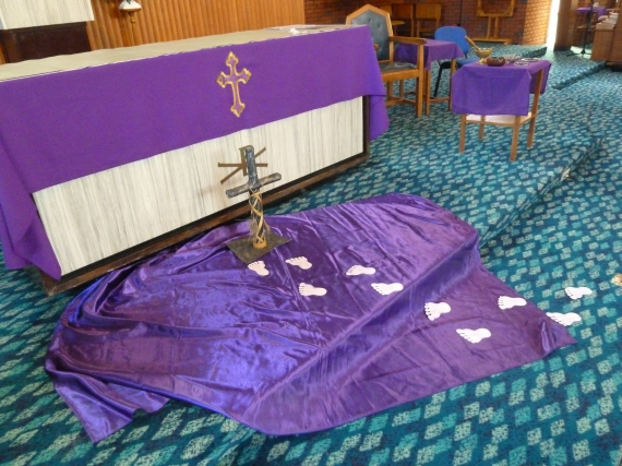Jesus help us to follow you! We are getting ready for Easter during Lent.