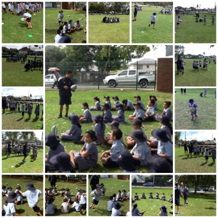 Year 1 and 2 Rugby Skills