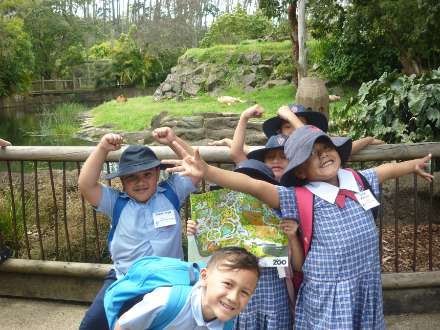 I love exploring at the zoo.