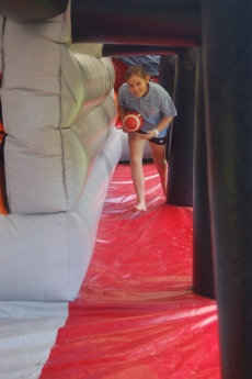 Anisha Year 6 Obstacle Course