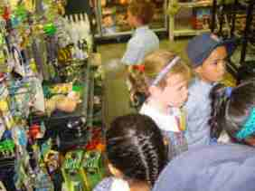 We enjoyed browsing through the store adn talking aobut what we could see.