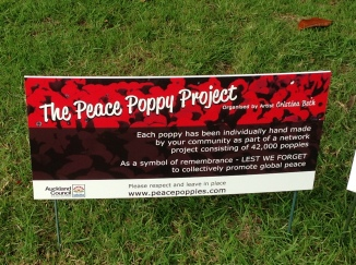 The Peace Poppy Project.