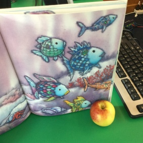 OUr fish looked just like the rainbow fish!