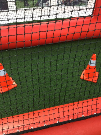 Big orange cones to move around