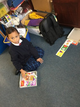 Islah likes a quiet corner to work in