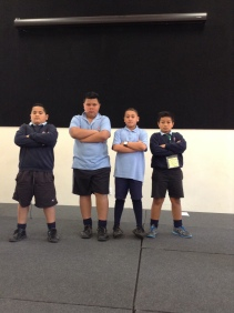 Various guards as played by Room 17 Students.