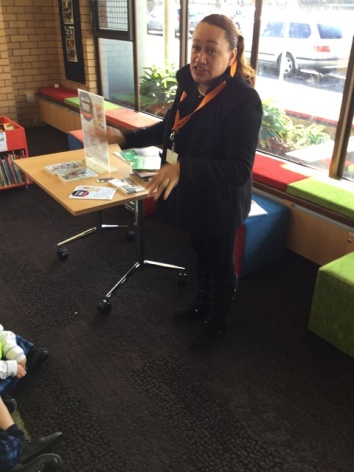 Ani spoke to us about belonging to the library
