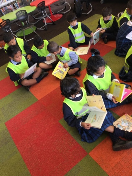 We can read quietly
