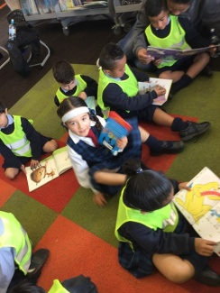 We read lots of books