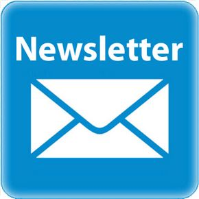 newsletter blue