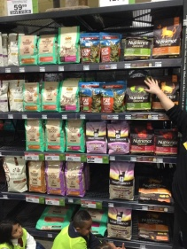 There are all sorts of dry foods