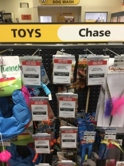 Toys to chase