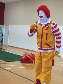 Ronald talked to us