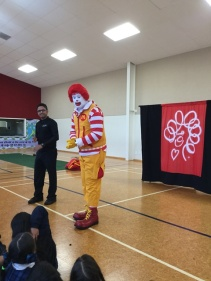 We called out to Ronald