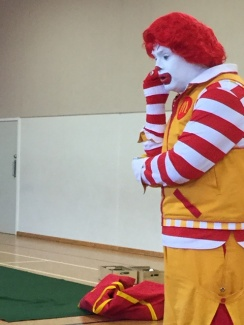 It talked to Ronald