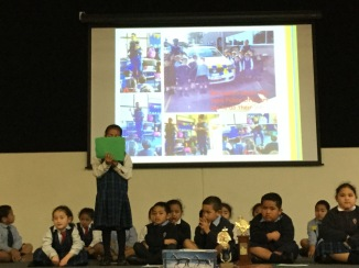 Finau introducing our Assembly.