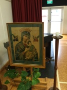 A icon of Mary