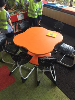 Child size tables and chairs