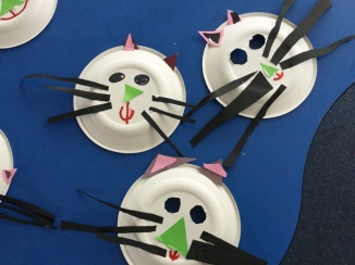 Look at our cat masks