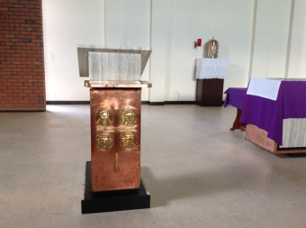 The lectern