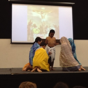 Children in Te Matauranga did a great job with their acting and reading. Well done everyone. Ka pai!!