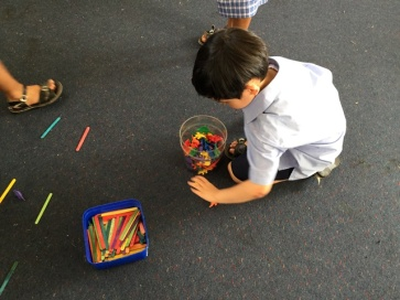 Counting and saying number stories