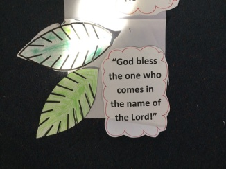 God bless the King who comes in the name of the Lord!