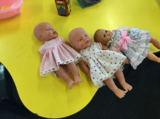 We have lots of baby dolls