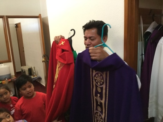Father's vestments