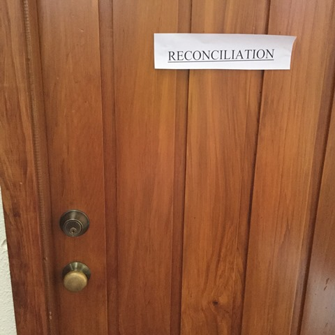 The door you enter for reconciliation