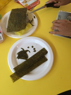 Seaweed - strips and shapes