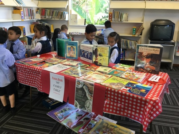 The Book Week focus table