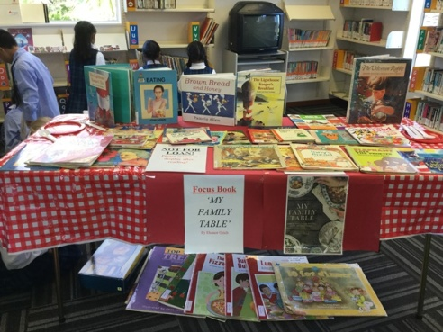 Healthy Eating - the Book Week Topic
