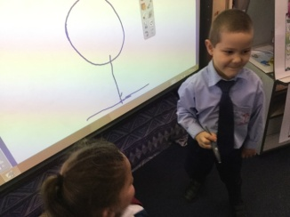 Drawing on the ActivBoard