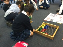 Measuring the abacus
