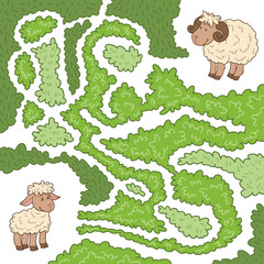 Finding the lost sheep