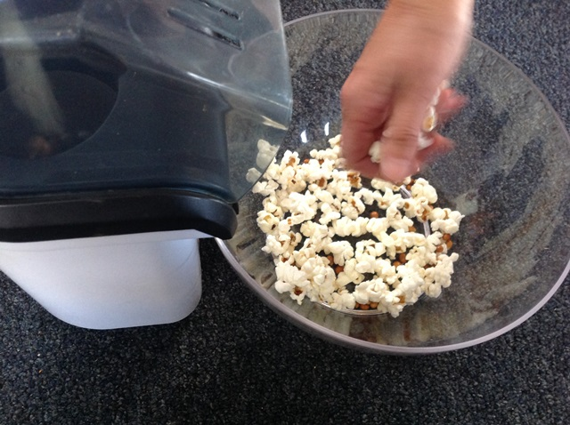 Our popcorn