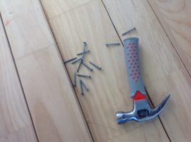 Our equipment - hammer and nails