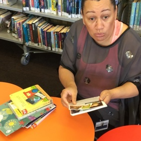 Ana talks about library resources