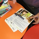 A brochure about joining the library