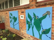 The lifecycle mural