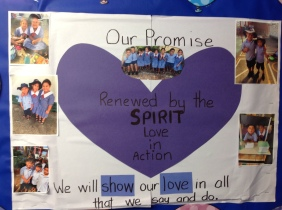 Here is our Lenten Promise we follow all year!